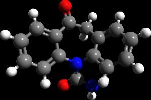 Orcarbazepine_3d_structure