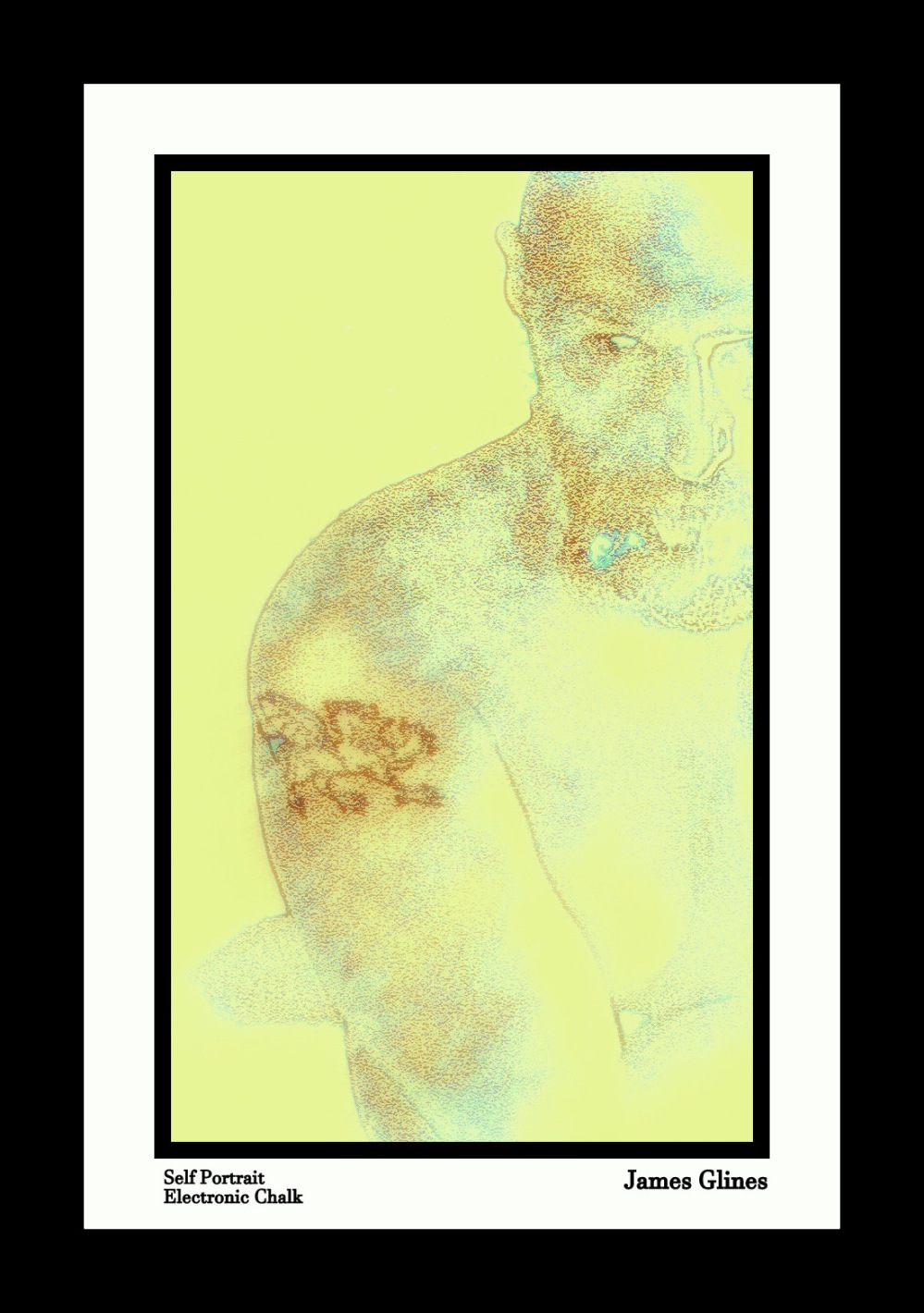 Jim Portrait Pastels 1